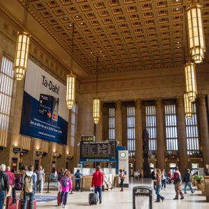 The Amtrak Station at 30th Street uses EnviroLogik Products