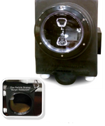 EnviroLogik's Fine Particle Strainer keeps solids from blocking drain lines.